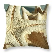 Tranquility Of The Ocean Throw Pillow