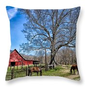Tranquitly Throw Pillow