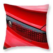 Trans Am Rear Lights Throw Pillow