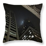 Transamerica Fog Throw Pillow
