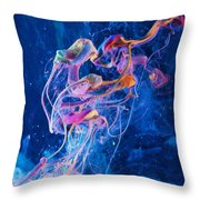 Transcendence - Abstract Art Photography Throw Pillow