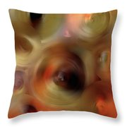 Transcendent - Abstract Art By Sharon Cummings  Throw Pillow by Sharon Cummings
