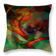Transdimensional Seagulls  Throw Pillow