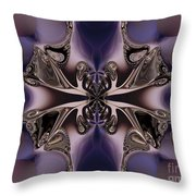 Transformation  Throw Pillow by Elizabeth McTaggart