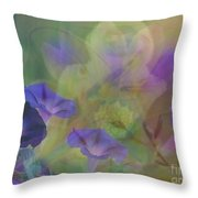 Transformation Throw Pillow by PainterArtist FIN