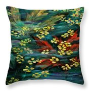 Transforming... Throw Pillow