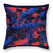 Transitions Iv Throw Pillow
