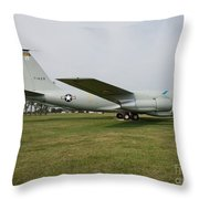 Transportation - Us Air Force - Airplane  Throw Pillow