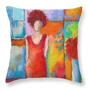 Transpose Throw Pillow