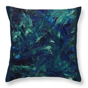 Transtions Xi Throw Pillow