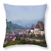 Transylvania Throw Pillow