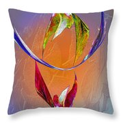 Trapeze Angels Throw Pillow