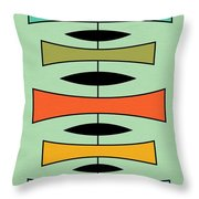 Trapezoids 2 Throw Pillow