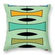 Trapezoids Throw Pillow