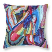 Trapped In Time Throw Pillow