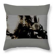 Trapped Inside Throw Pillow