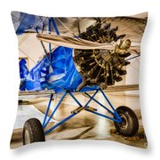 Travel Air 4000 Throw Pillow