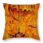 Travel In Time 651 - Marucii Throw Pillow