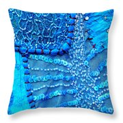 Travel Shopping Colorful Tapestry Series 13 India Rajasthan Throw Pillow