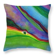 Travelers Foothills By Jrr Throw Pillow