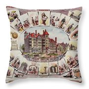 Traveling Salesmen Of America  Throw Pillow