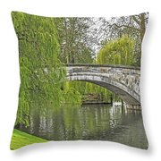 Traveling The Cam Throw Pillow