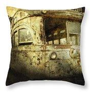 Traveling Through Time Throw Pillow