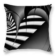 Traverse Time Throw Pillow