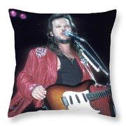 Musician Travis Tritt   Throw Pillow