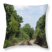 Traxs To Anywhere Throw Pillow
