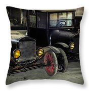 Treads Of Time Throw Pillow