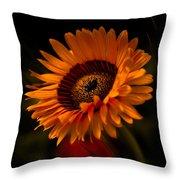 Treasure Flower Throw Pillow