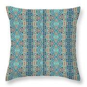 Treasure - Inverted Tile Arrangement Throw Pillow