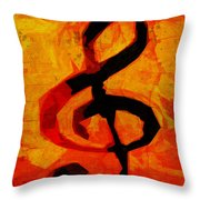 Treble Distressed Throw Pillow