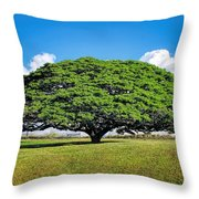 Tree 10 Throw Pillow