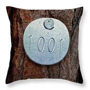 Tree 1001 Throw Pillow
