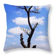 Tree 8 Throw Pillow