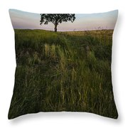 Tree Alone Throw Pillow
