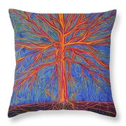 Tree As It Is Throw Pillow