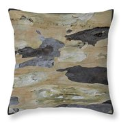 Tree Bark II Throw Pillow