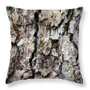 Tree Bark Throw Pillow