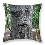 Tree Beard Throw Pillow