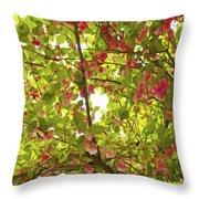 Tree Blossom 1 Throw Pillow