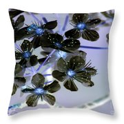 Tree Blossoms Throw Pillow