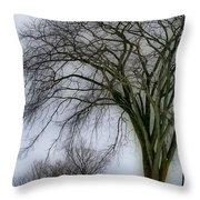 Tree Elder Throw Pillow