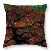 Tree Fabrica Abstract Graphic Throw Pillow