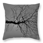 Tree Fall Throw Pillow