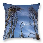 Tree Fingers Throw Pillow