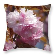 Tree Flower 01 Throw Pillow