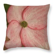 Tree Flower Throw Pillow